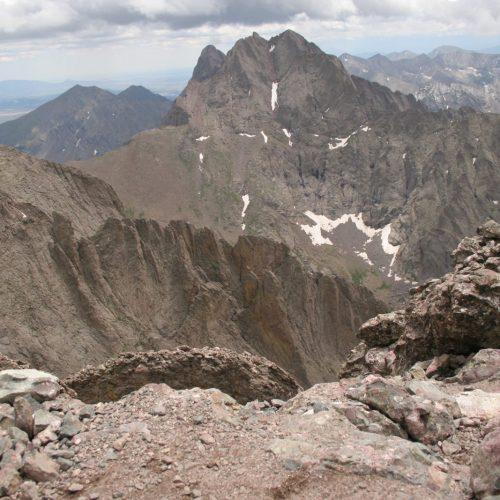 Crestone Peak and Crestone Needle