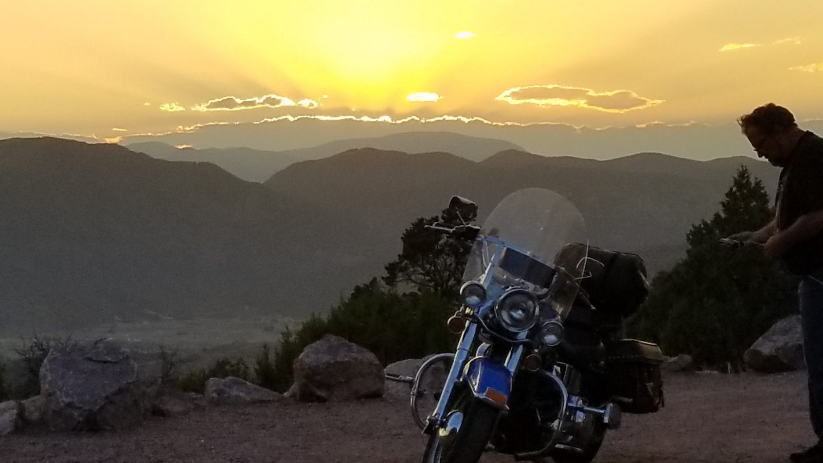 A Motorcycle Ride through the Wet Mountain Valley