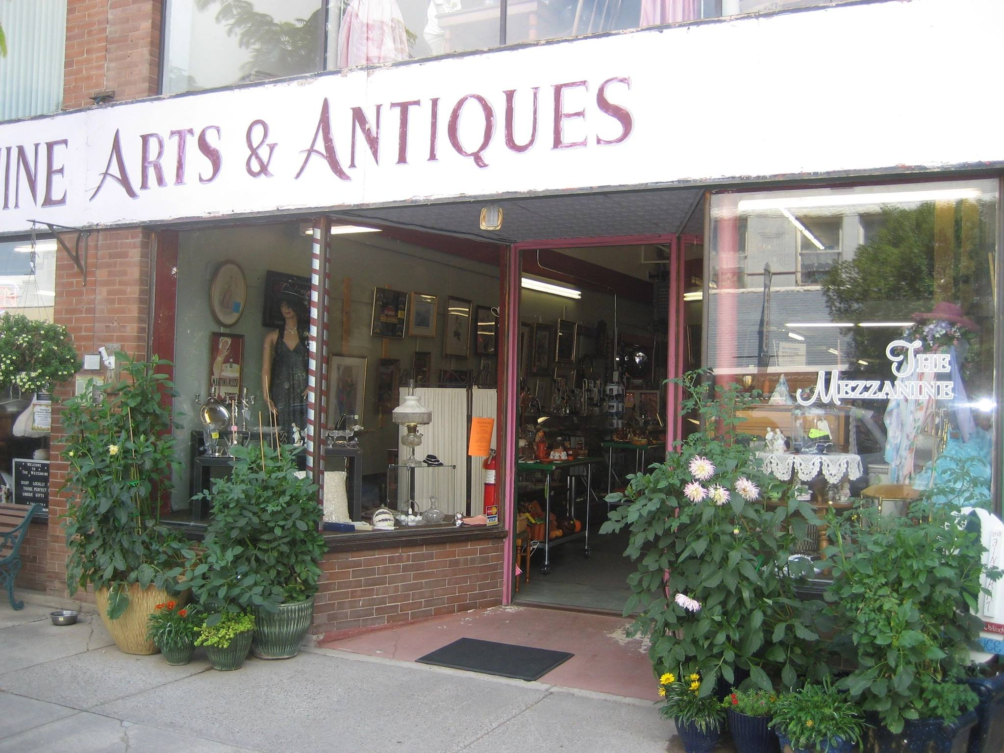 The Mezzanine Antiques and Collectibles