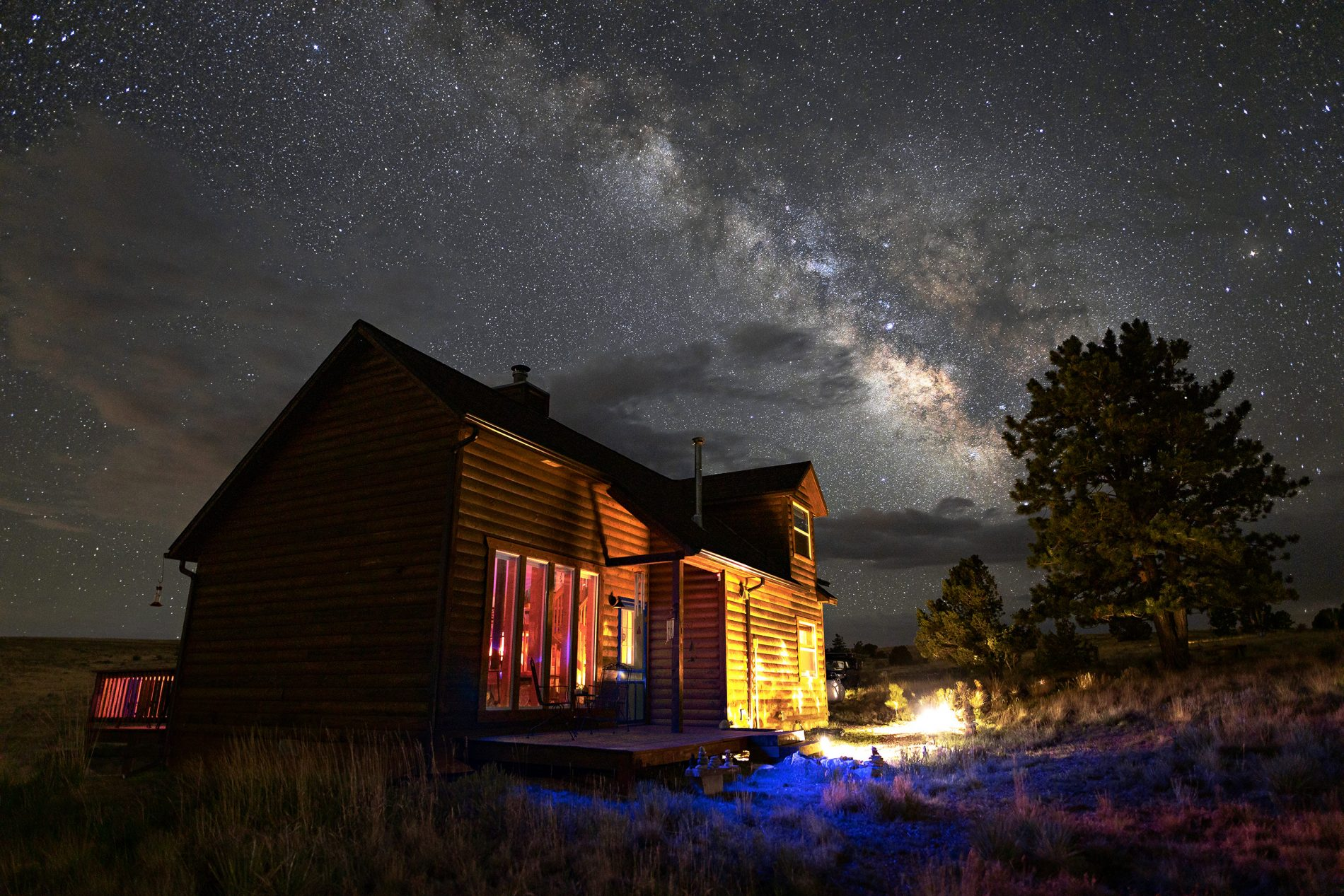 Watch Time Pass Over The Wet Mountain Valley's Night Skies with SKYGLOW