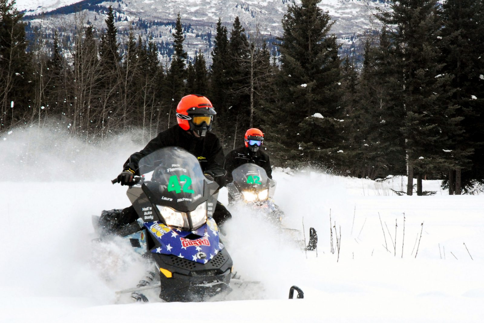 Snowmobiling in the Wet Mountains